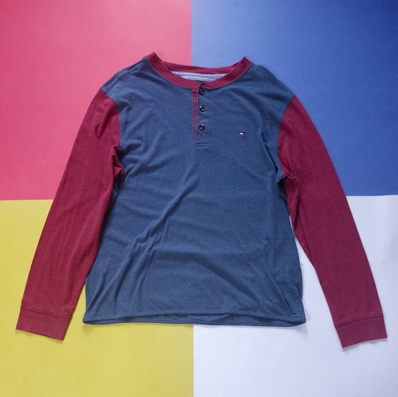 Tommy Hilfiger Essential Colour Block Long Sleeve